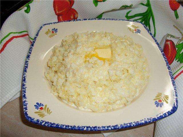 Как приготовить в мультиварке рисовую кашу на воде