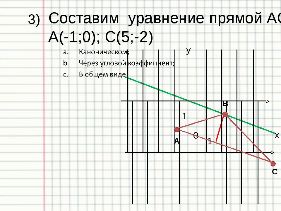 Ответы к тесту: «Прямая на плоскости» Вариант №1 №2 №3 №4 №5 1 b d а b а 2 d...