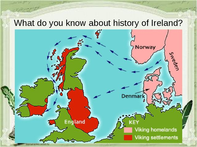 What do you know about history of Ireland?