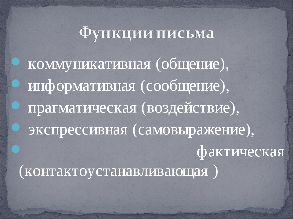 коммуникативная (общение), информативная (сообщение), прагматическая (воздей...