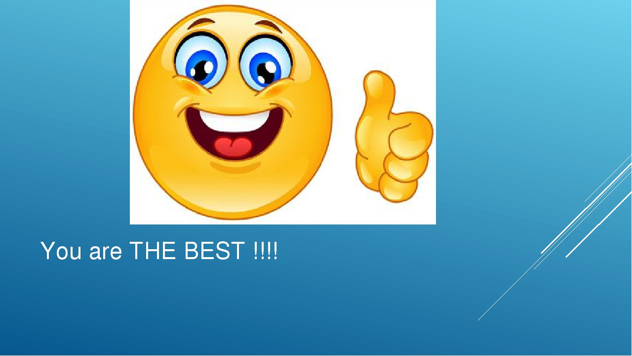 You are THE BEST !!!!