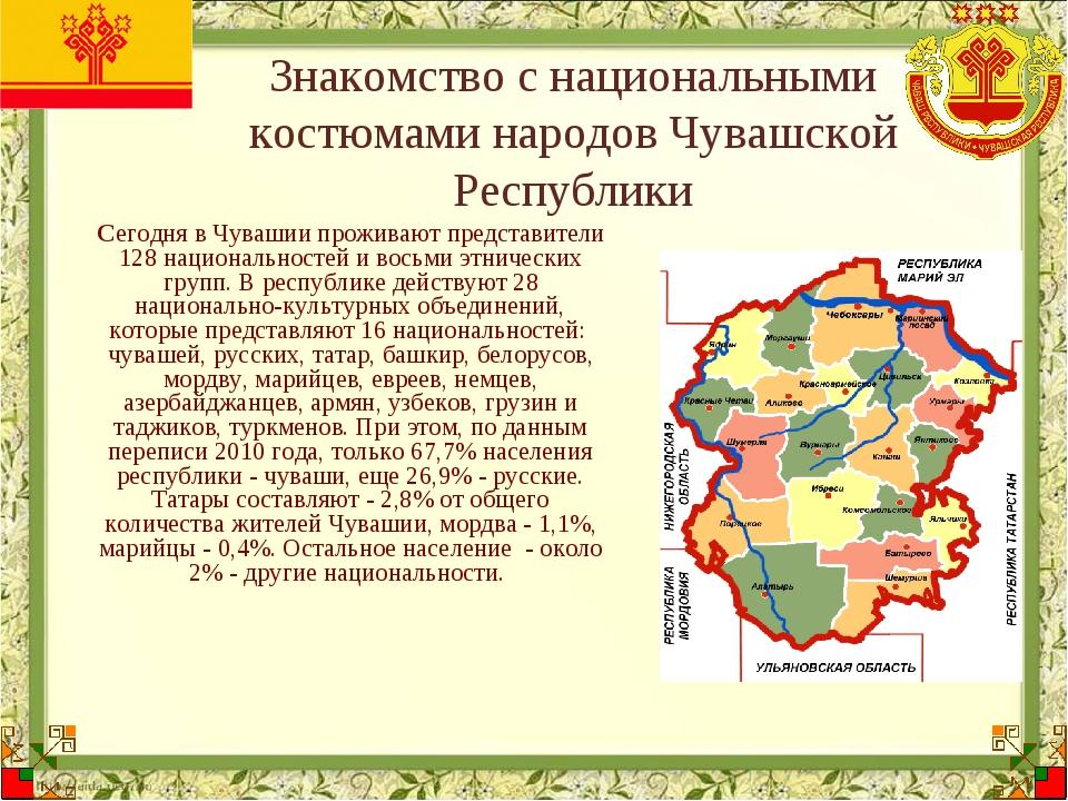 Знакомство с национальными костюмами народов Чувашской Республики Сегодня в Ч...