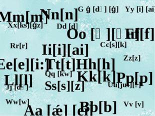 Mm[m] Nn[n] Tt[t] Oo [ɒ][əu] Kk[k] Pp[p] Hh[h] Ii[i][ai] Ll[l] Bb[b] Ff[f] Ee