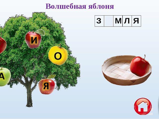 О Волшебная яблоня ЗЕМЛЯ