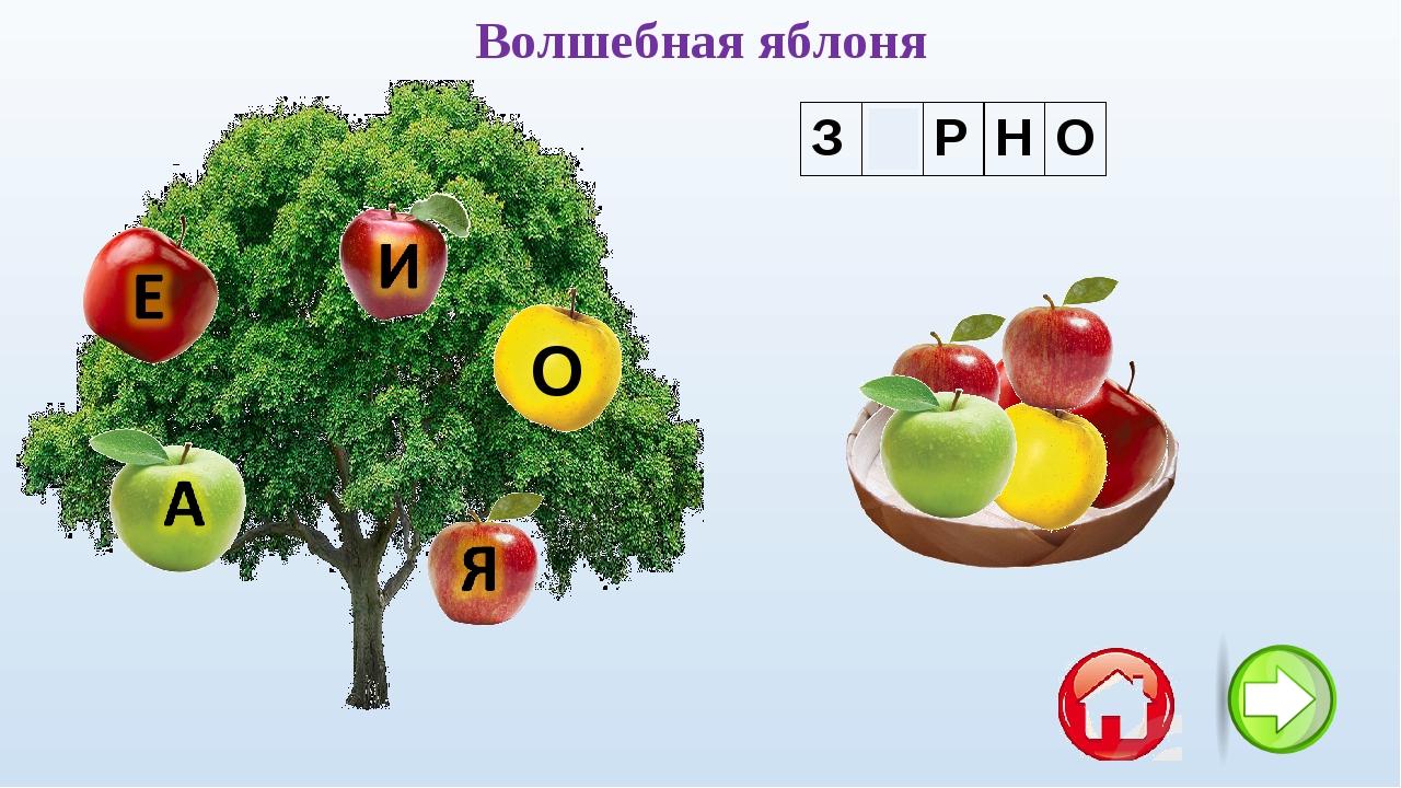О Волшебная яблоня ЗЕРНО