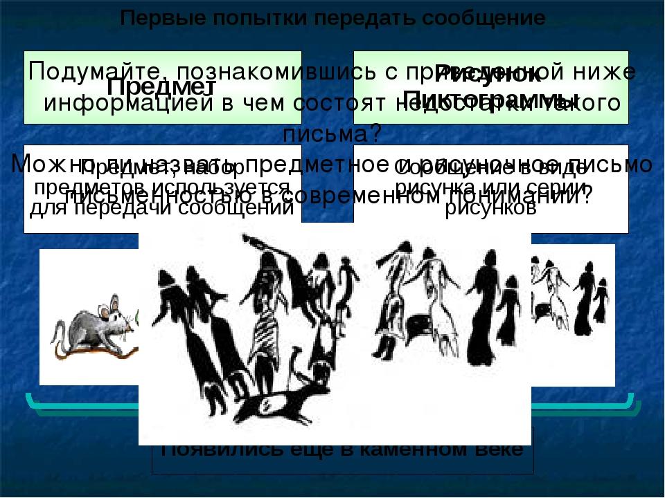 Предмет Предмет, набор предметов используется для передачи сообщений Появилис...