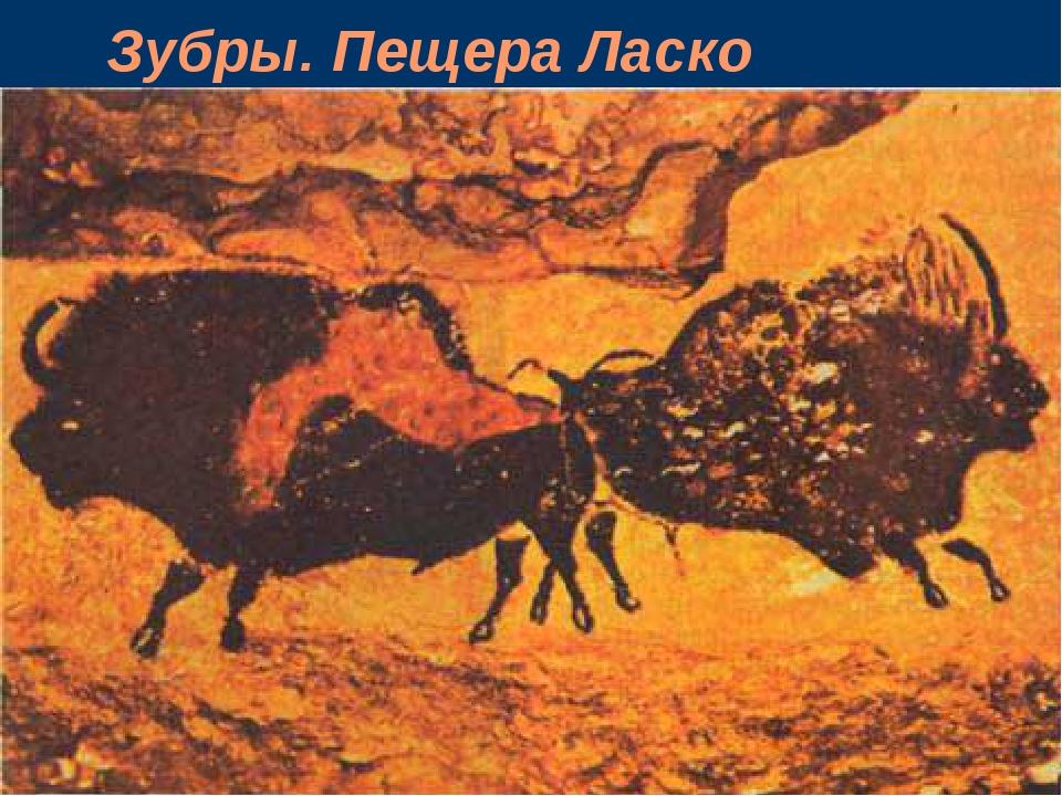 Зубры. Пещера Ласко
