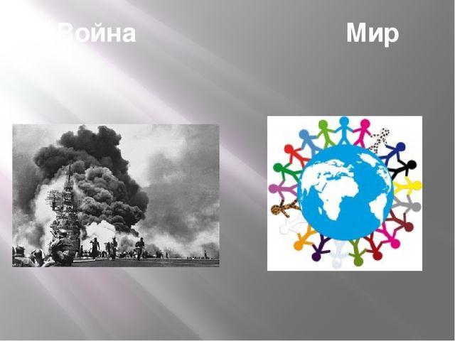 Война Мир