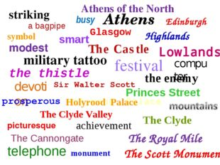 a bagpipe Highlands Lowlands Glasgow Edinburgh Athens Athens of the North Pri