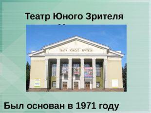 Театр Юного Зрителя г. Макеевка Был основан в 1971 году