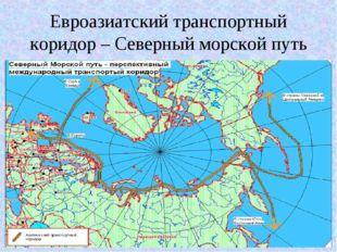 Евроазиатский транспортный коридор – Северный морской путь