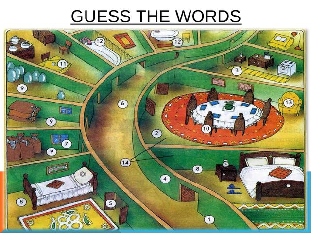 GUESS THE WORDS