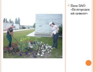 База ЗАО «Белгородский цемент»