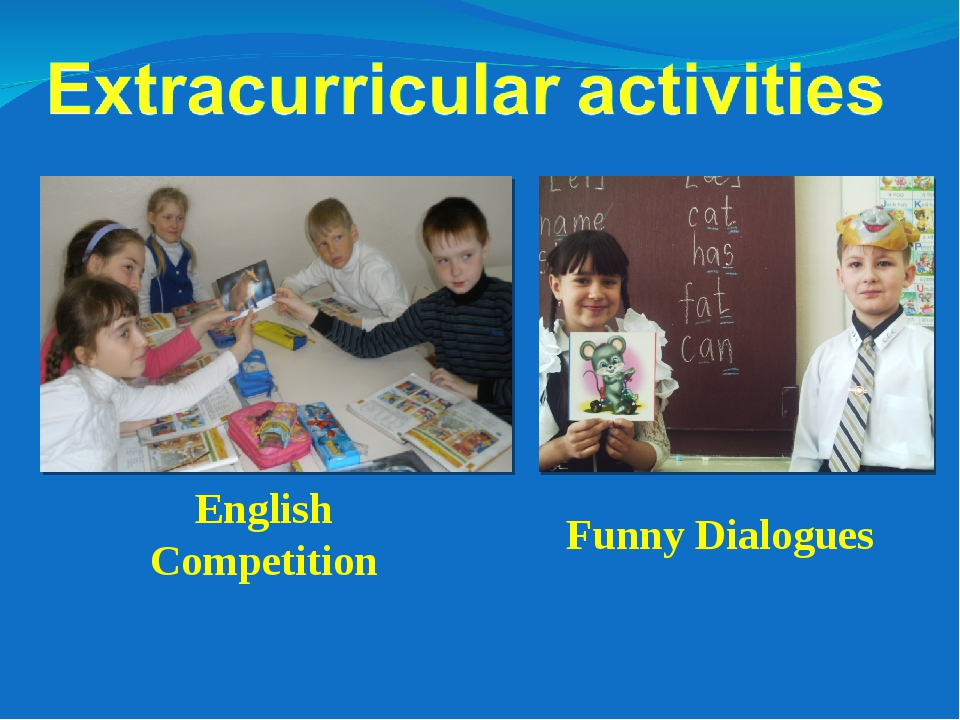 English Competition Funny Dialogues