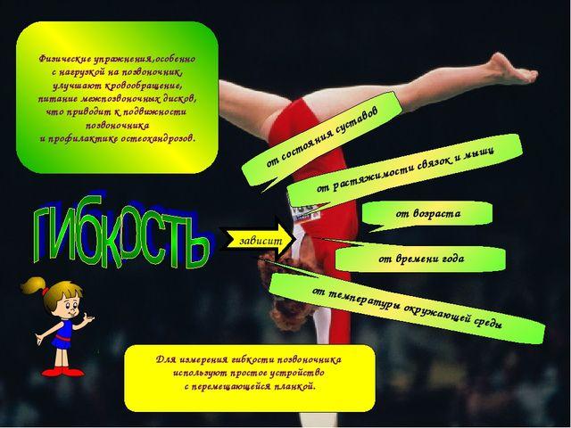 Физические упражнения,особенно с нагрузкой на позвоночник, улучшают кровообра...