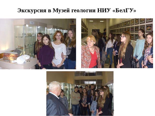 Экскурсия в Музей геологии НИУ «БелГУ»
