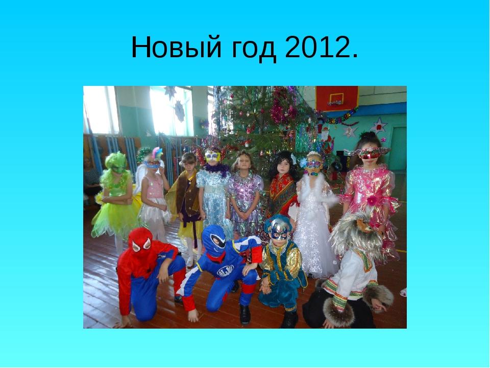 Новый год 2012.