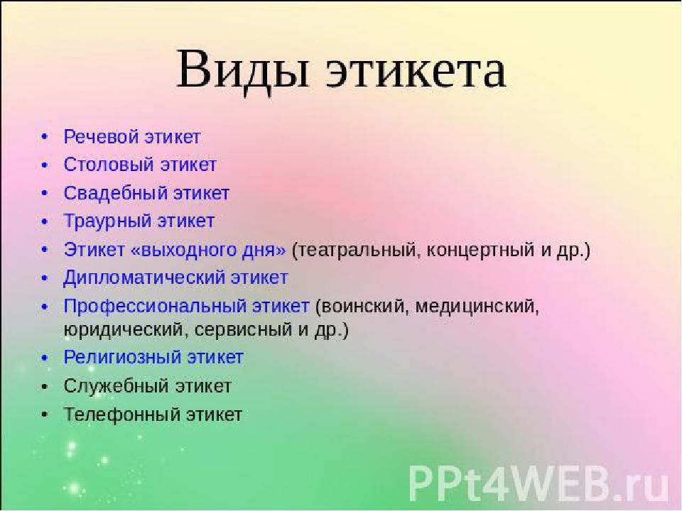 при тему правила знакомстве на этикета презентация