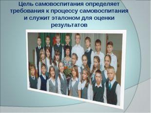 Цель самовоспитания определяет требования к процессу самовоспитания и служит