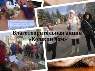 Благотворительная акция «Кошкин дом»