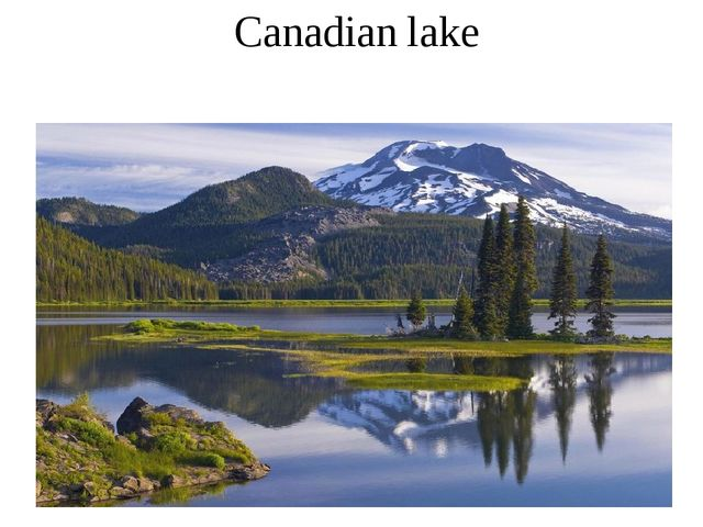Canadian lake