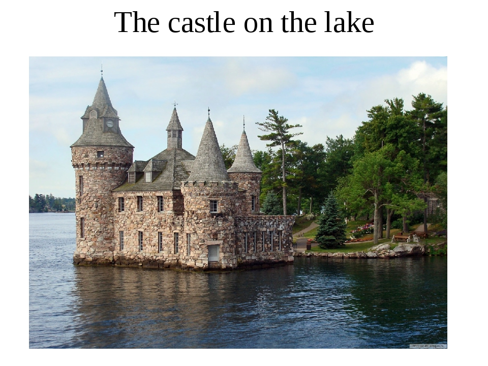 The castle on the lake