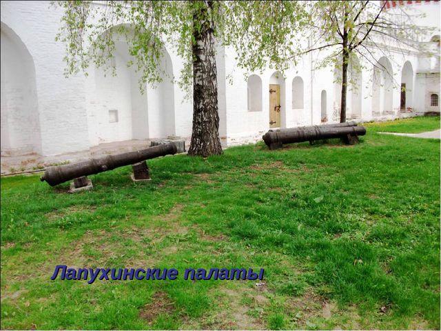 Лапухинские палаты