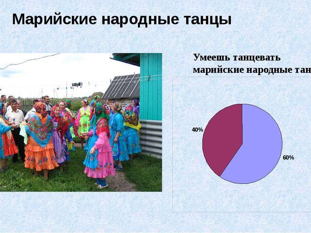 Марийские народные танцы Умеешь танцевать марийские народные танцы?