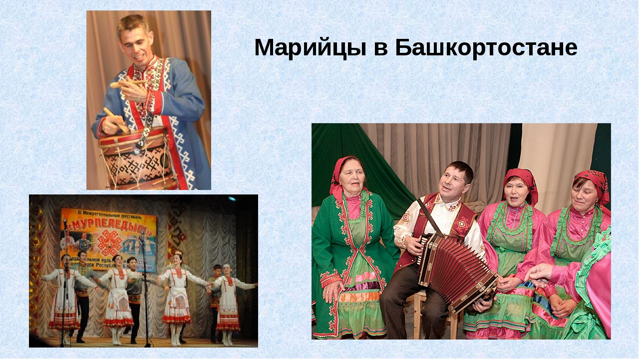 Марийцы в Башкортостане