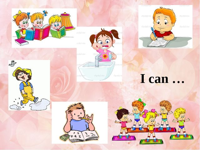I can …