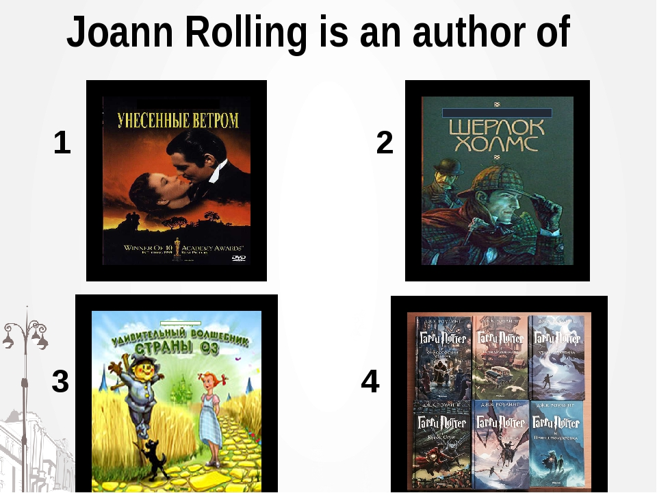 Joann Rolling is an author of 1 2 3 4
