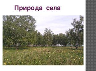 Природа села