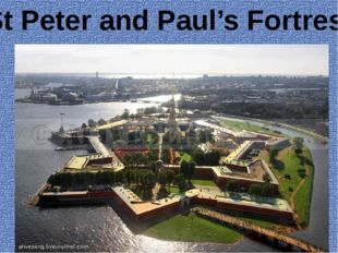 St Peter and Paul's Fortress