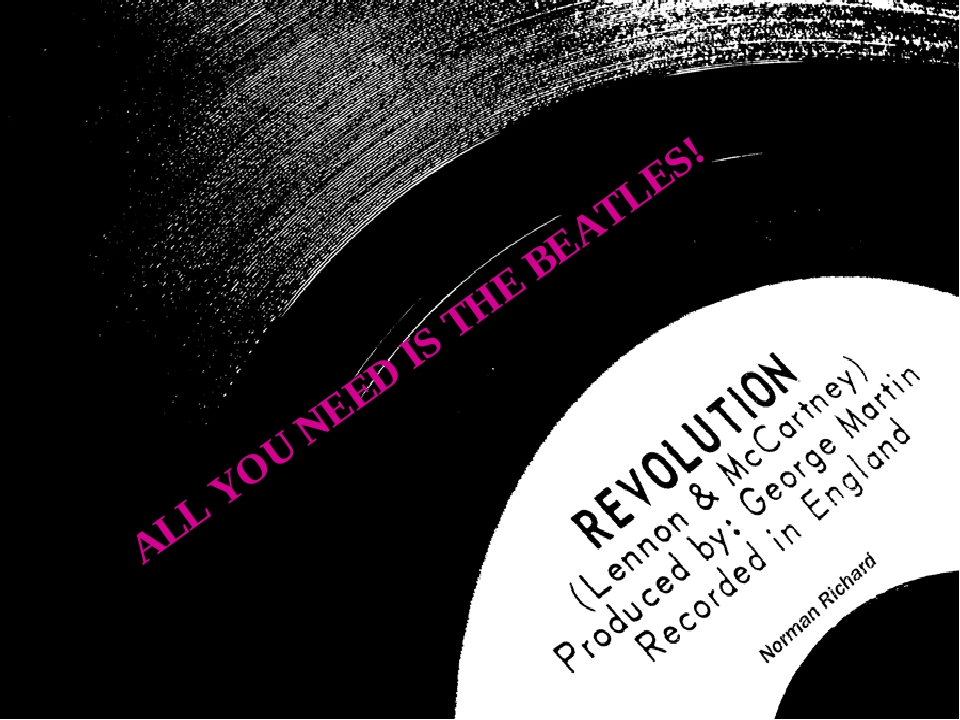 ALL YOU NEED IS THE BEATLES!