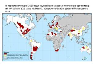 Впервомполугодии2010годакрупнейшиемировыетопливныеорганизациипотрати
