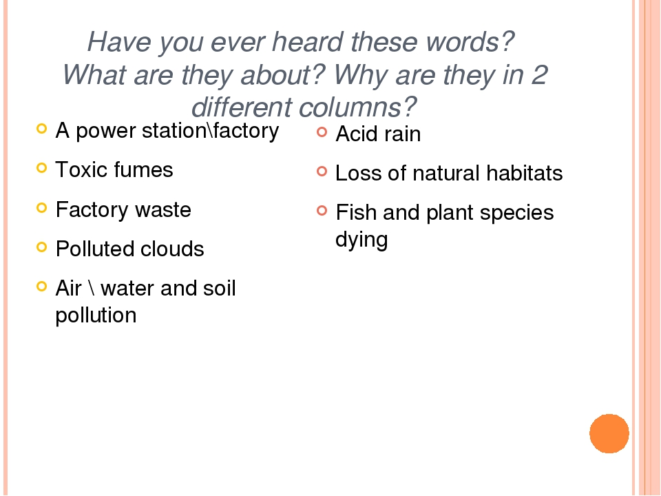 Have you ever heard these words? What are they about? Why are they in 2 diffe...