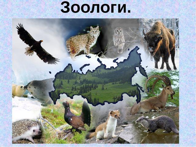 Зоологи.