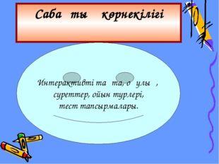 Пән аралық байланыс Әдебиет Қазақ тілі Дүниетану