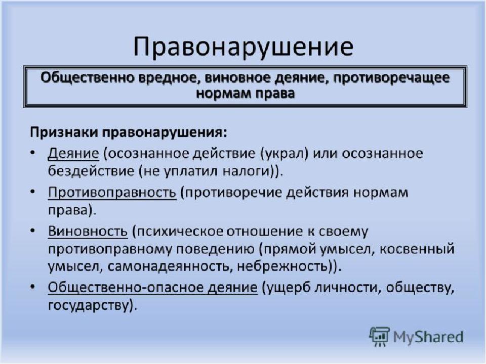 Причины условия и поводы правонарушений в российском обществе шпаргалка