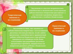 Заключается в анализе теоретических, методических и технических основ изучени