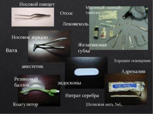 Отсос Хорошее освещение анестетик Нитрат серебра Шелковая нить №6, Желатинова