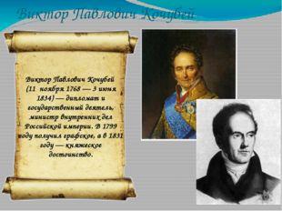 Николай Николаевич Новосильцев Николай Николаевич Новосильцев (1761 — 8 апрел