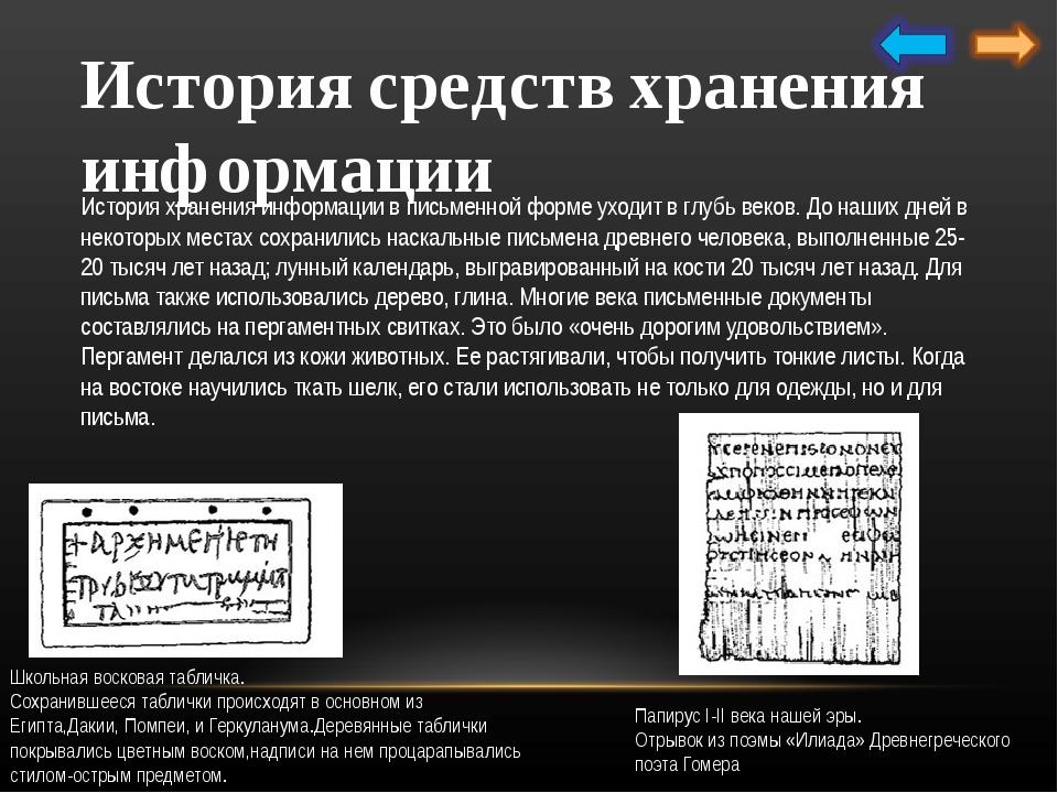 История средств передачи информации Первоначально люди пользовались лишь сред...