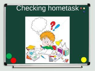 Checking hometask