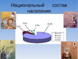 Национальный состав населения Самарской области