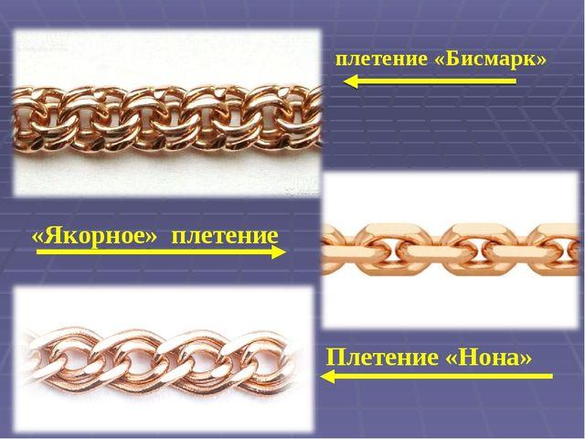 Технология плетения бисмарк
