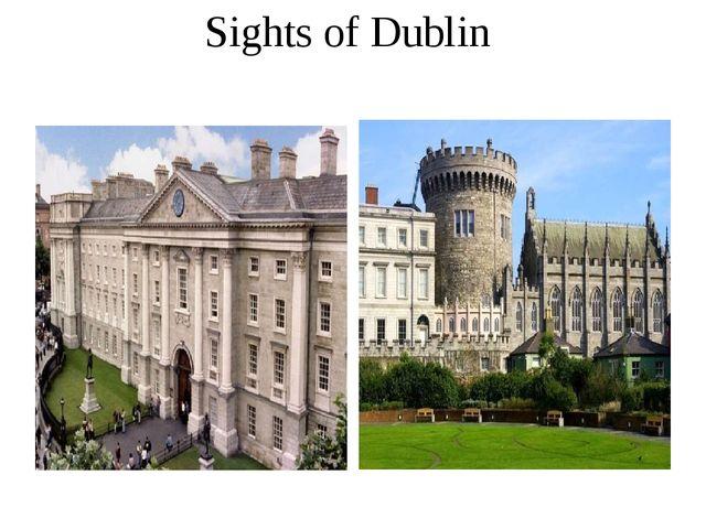 Sights of Dublin