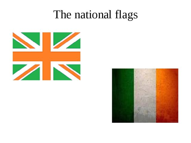 The national flags