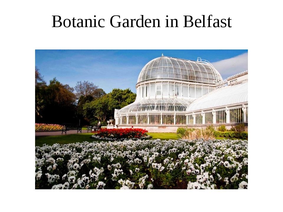 Botanic Garden in Belfast