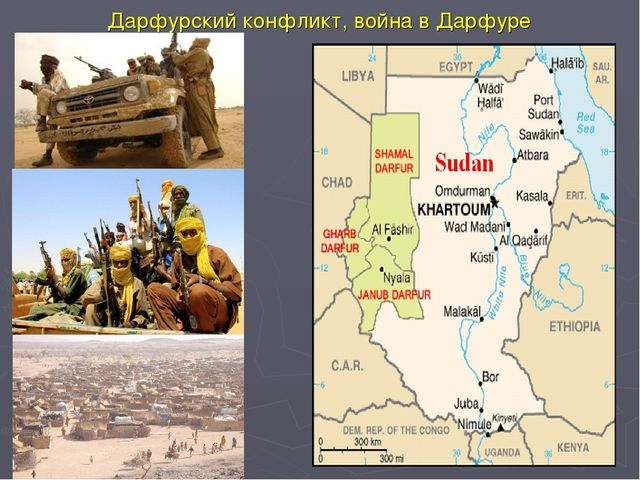 Дарфурскийконфликт,война в Дарфуре